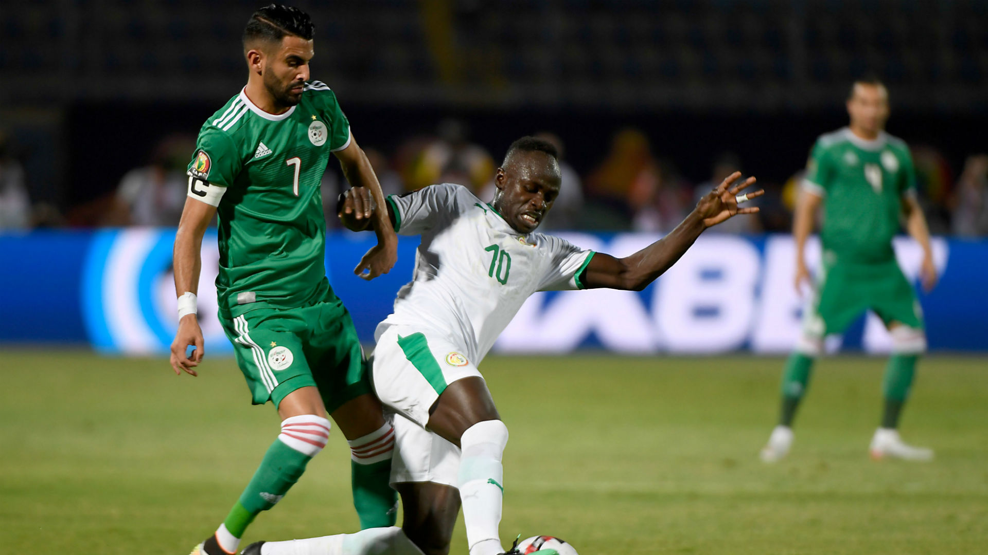 Manchester City's Mahrez celebrates Mane and gives reason for missing Caf Awards