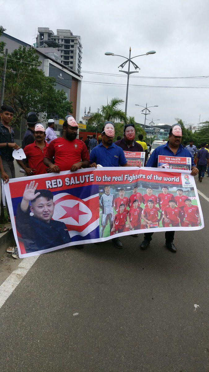 Korea U17 Kerala