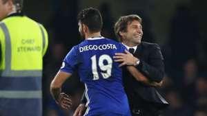 Diego Costa Antonio Conte Chelsea Premier League