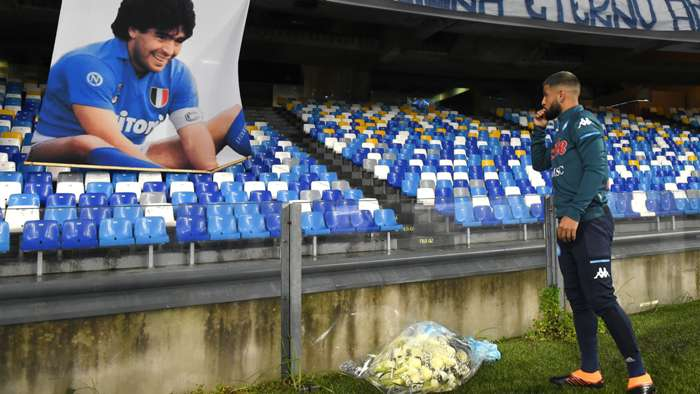 Insigne Maradona Napoli Roma Serie A