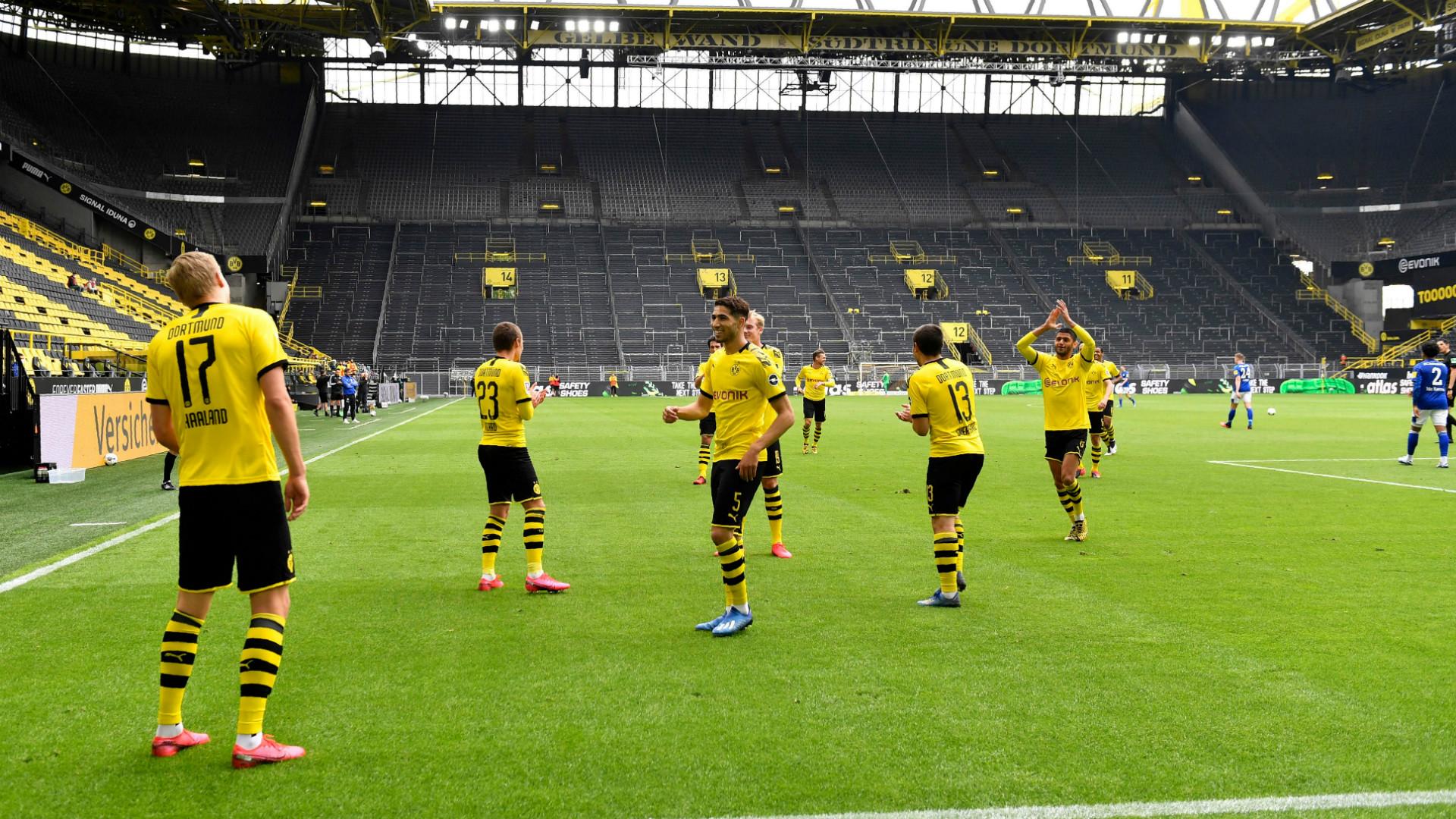 Dortmund Schalke Tore
