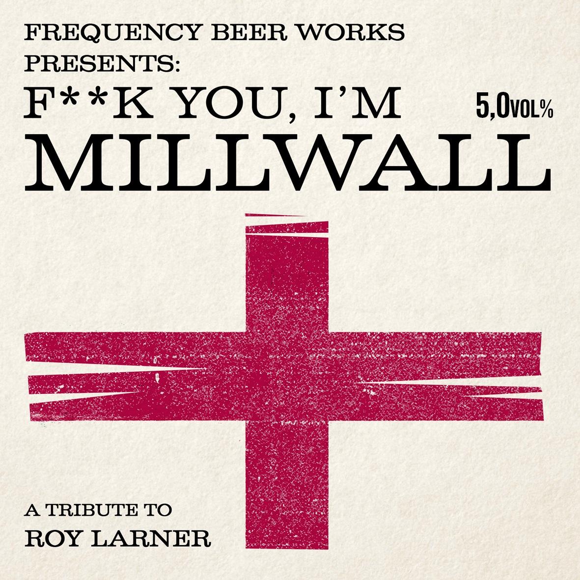 Millwall Beer label