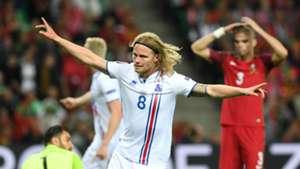 Portugal - Iceland, BJARNASON, euro 2016