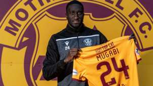 Bevis Mugabi of Uganda and Motherwell.