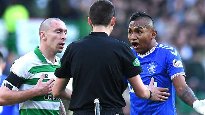 Scott Brown Celtic Alfredo Morelos Rangers 2019