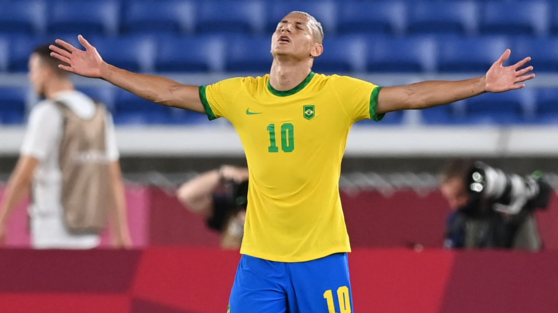Richarlison makes Premier League history at Olympics 2020 as Everton star hits hat-trick for Brazil