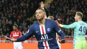 Kylian Mbappe Monaco PSG Ligue 1 15012020