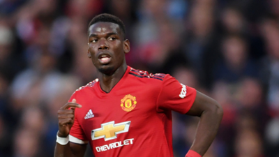 Paul Pogba Manchester United 2018