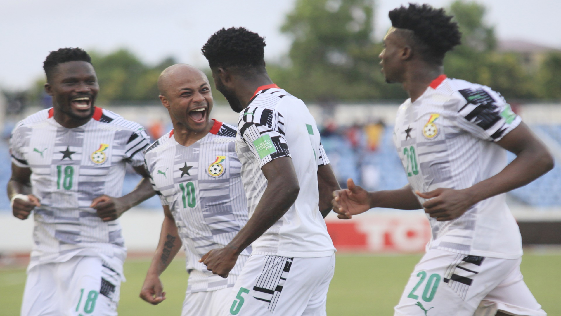 Ghana 3-1 Zimbabwe: Black Stars follow Bafana Bafana in World Cup qualifier    Goal.com