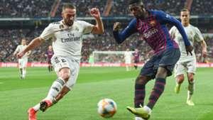 Dani Carvajal Real Madrid Dembele Barcelona