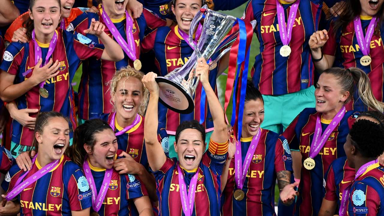 Vicky Losada Barcelona Women 2020-21