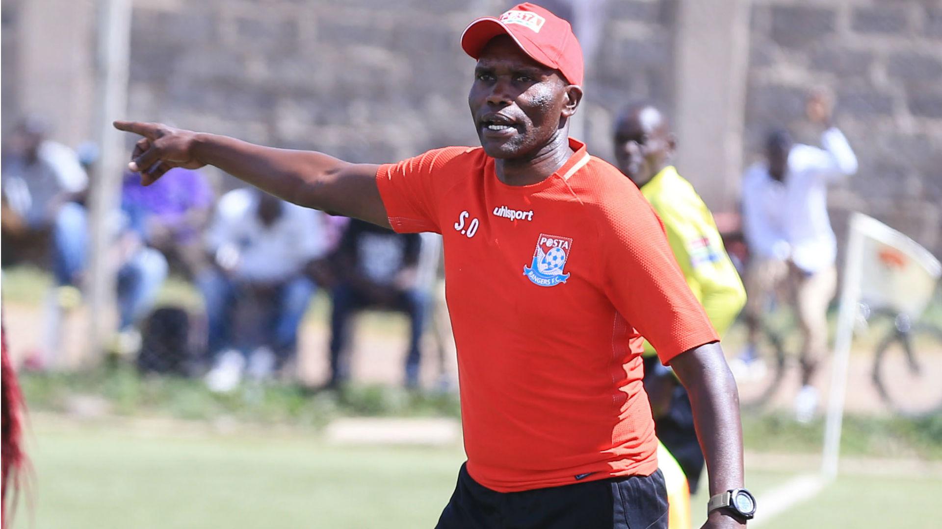 Posta Rangers coach Sammy Omollo.j