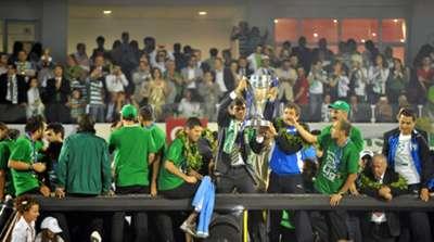 Ertugrul Saglam Bursaspor Championship Celebration 2010