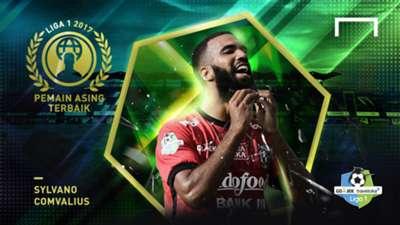 Pemain Asing Terbaik Liga 1 2017 - Sylvano Comvalius