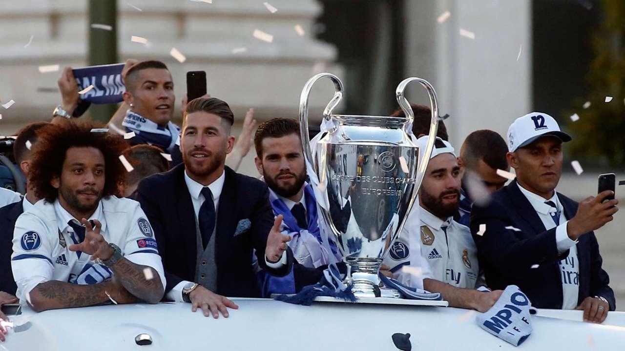Real Madrid celebration 04062017