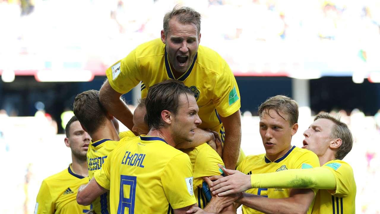 Sweden Celebrating 2018 World Cup