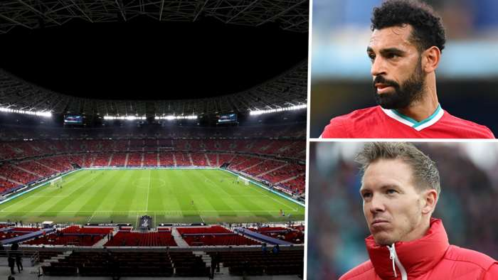 Puskas Arena Mohamed Salah Julian Nagelsmann Liverpool RB Leipzig