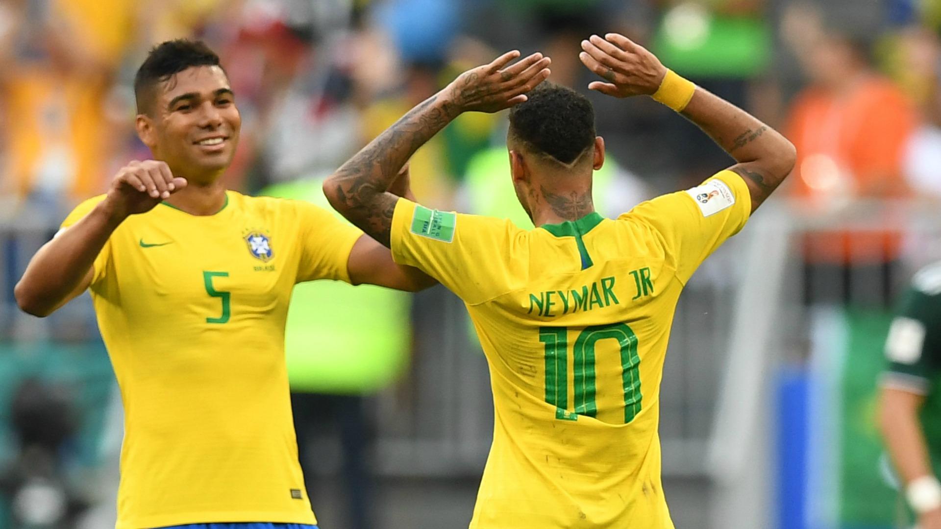 Casemiro, Neymar