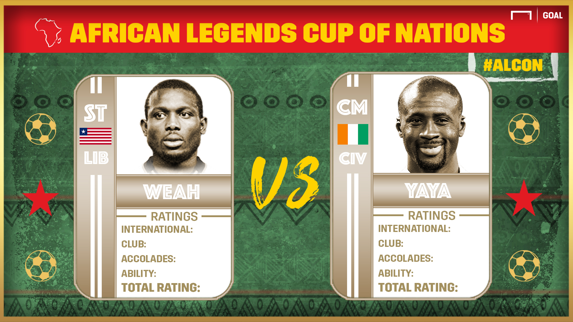 African Legends Cup of Nations: Yaya to meet Eto'o in the final