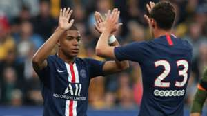 Kylian Mbappe Julian Draxler PSG 2019