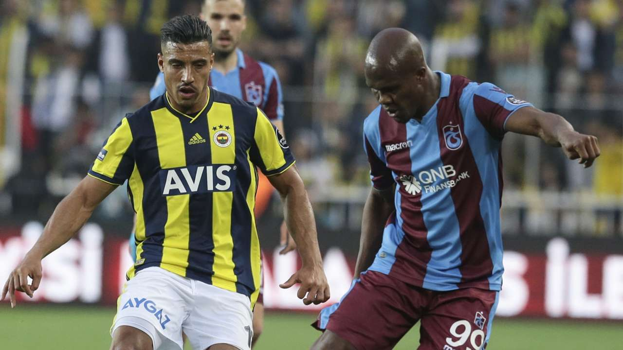 Nabil Dirar Tony Nwakaeme Fenerbahce Trabzonspor STSL 04272019