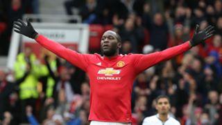 Romelu Lukaku Manchester United Swansea 03312018