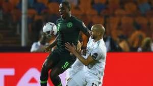 Odion Ighalo, Adlene Guedioura - Algeria vs Nigeria
