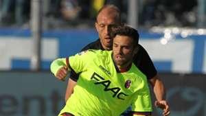 Federico Di Francesco, Andrea Masiello, Atalanta, Bologna, Serie A, 04222017