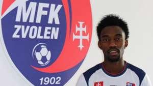 Kenyan striker Albert Muema signs for MFK Zvolen in Slovakia.