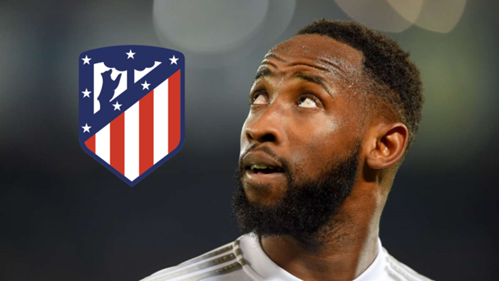 Moussa Dembele Atletico Madrid GFX