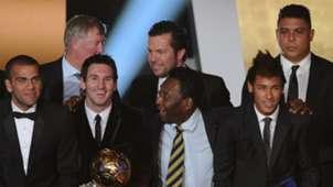 Pele Lionel Messi