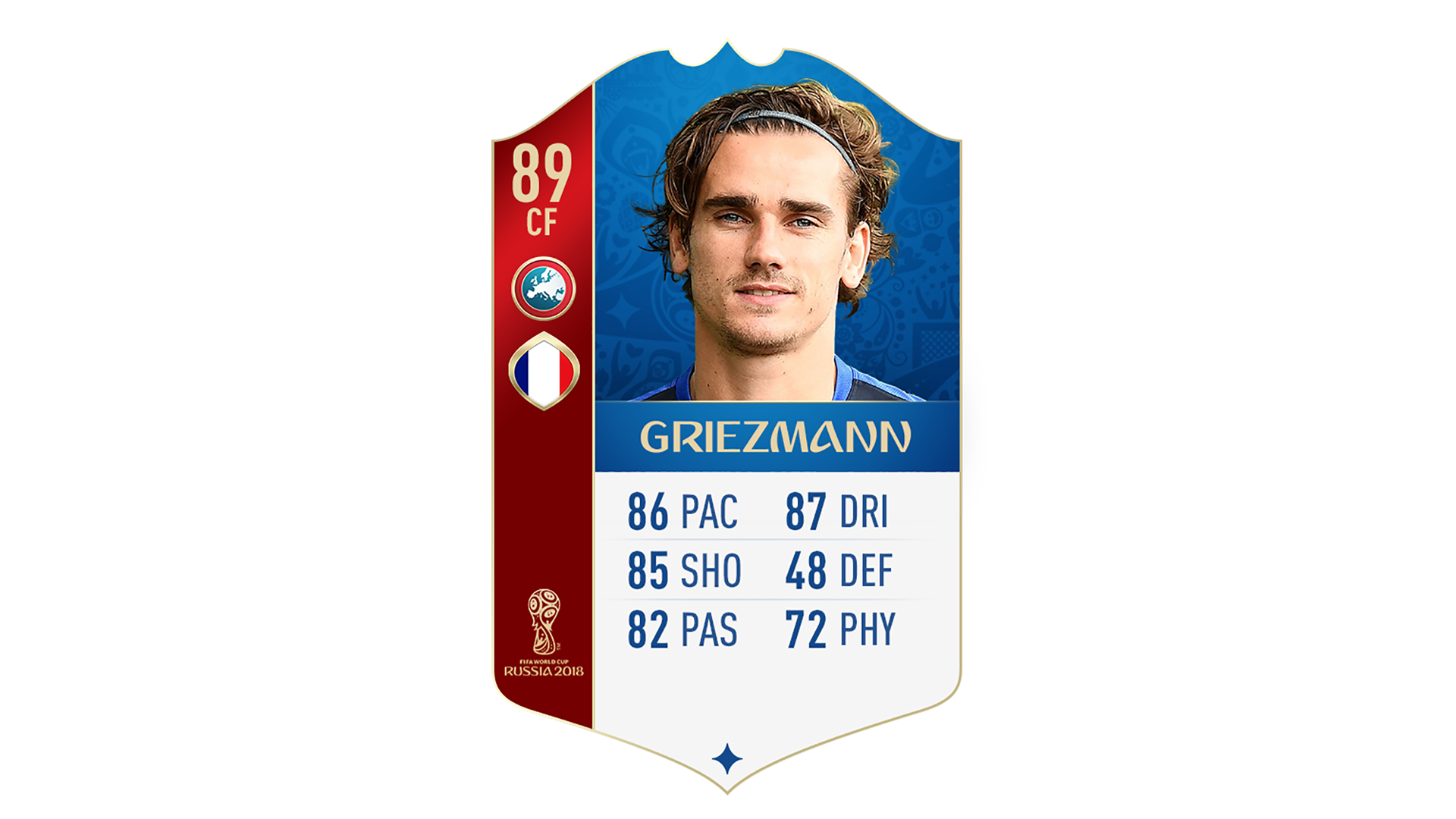 FIFA 18 World Cup France Griezmann