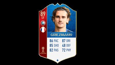 FIFA 18 World Cup France Griezmann