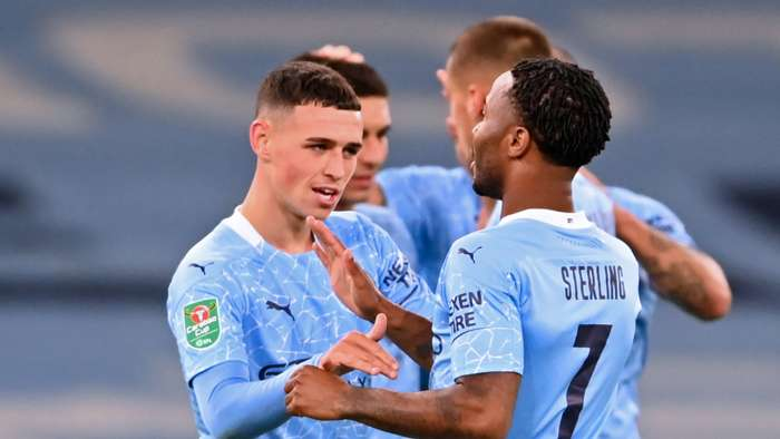 Foden Sterling Manchester City 2020