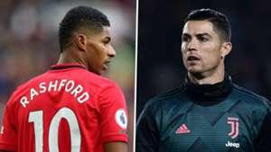 Rashford reacts to Solskjaer's Ronaldo comparison