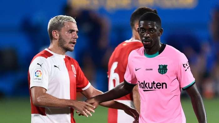 Ousmane Dembele Barcelona 2020-21