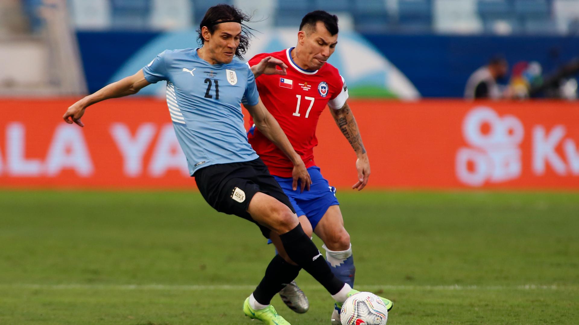 Chile y Uruguay firman un entretenido empate en la Copa América