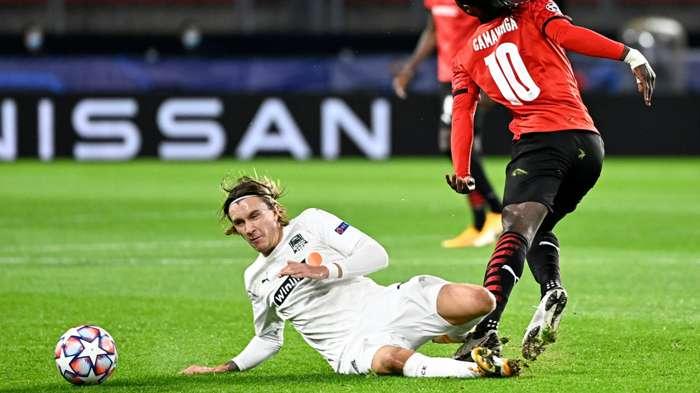 Kristoffer Olsson Rennes vs Krasnodar Champions League 2020-21