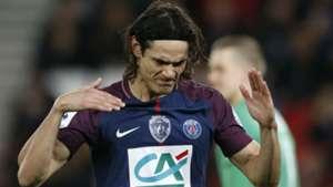 Edinson Cavani PSG Guingamp Ligue 1 24012018