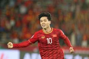 Công Phượng Iraq Việt Nam Asian Cup 2019