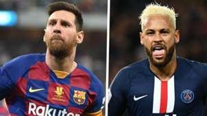 Lionel Messi Neymar GFX