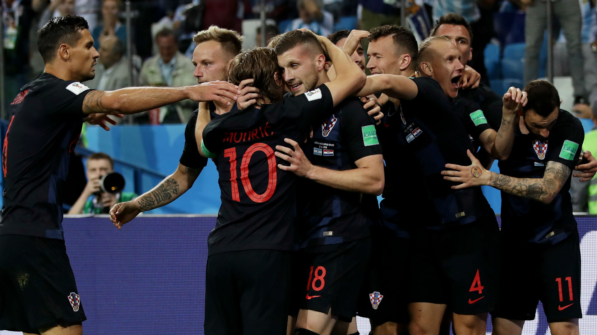 Croatia Argentina World Cup 2018