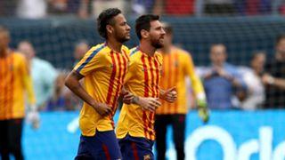 Neymar Lionel Messi Barcelona ICC