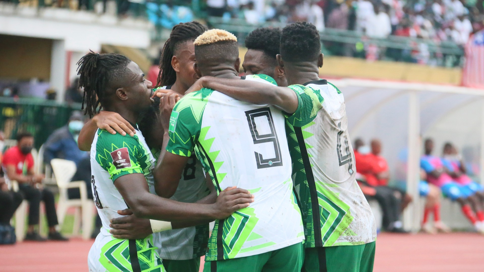 2022 World Cup qualifiers: How Nigeria players celebrated Cape Verde win