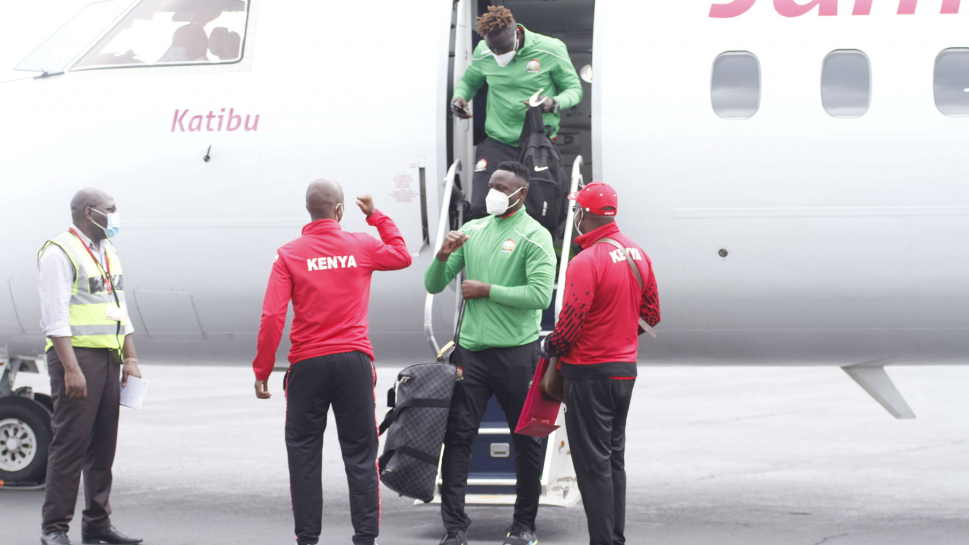Harambee Stars arrive safely in Comoros ahead of Afcon qualifier