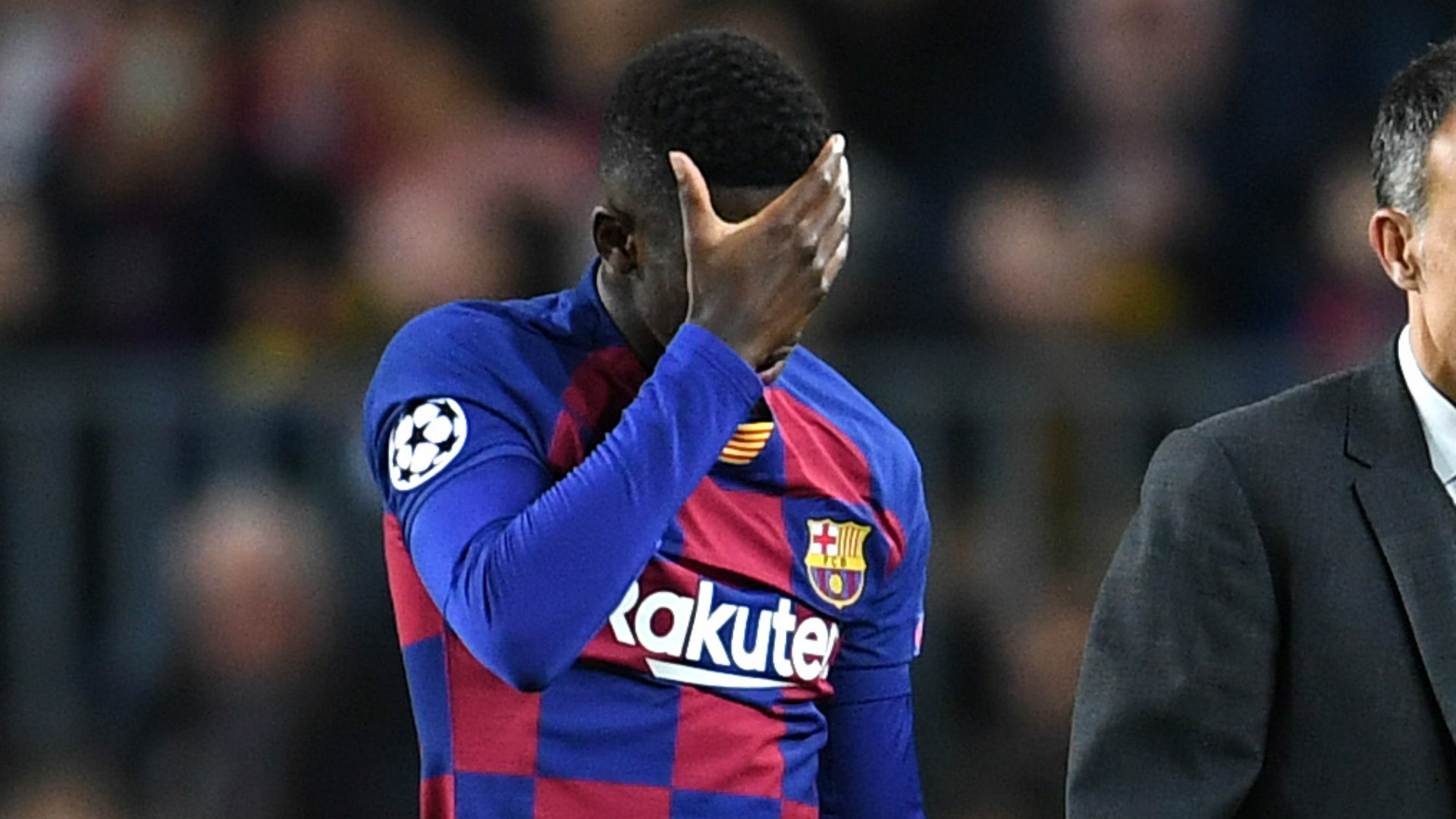 Barcelona's Dembele set to be sidelined for six months