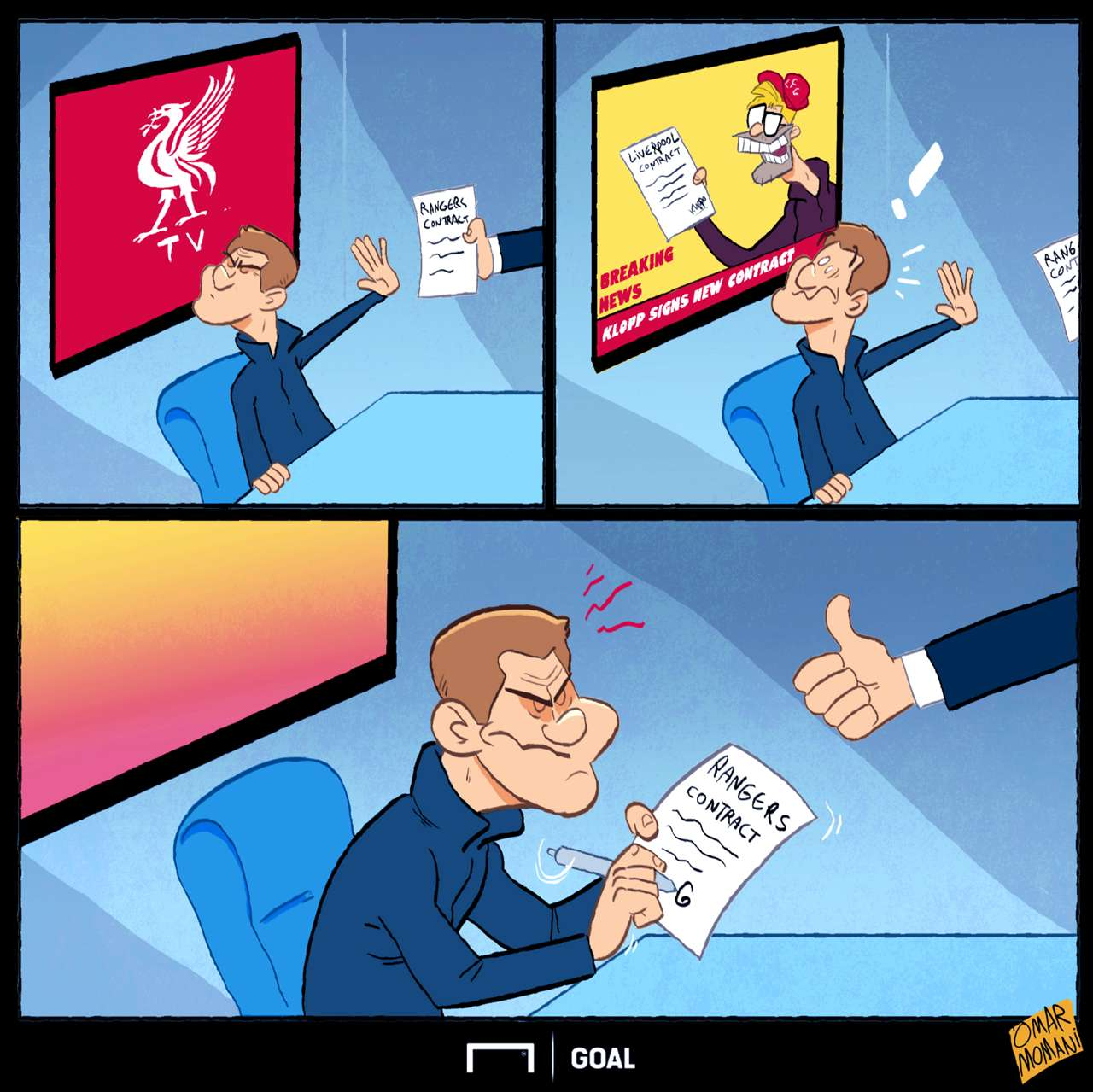 Goal's Cartoon Corner - the best football sketches from ...