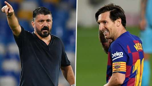 'I can only mark Messi in my dreams!' - Gattuso preparing Napoli for Barca clash