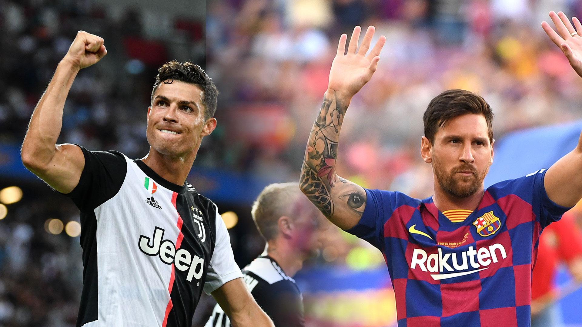 Ronaldo, Messi e Haaland: Quem tem a melhor proporção de gols por jogo na história da Liga dos Campeões?