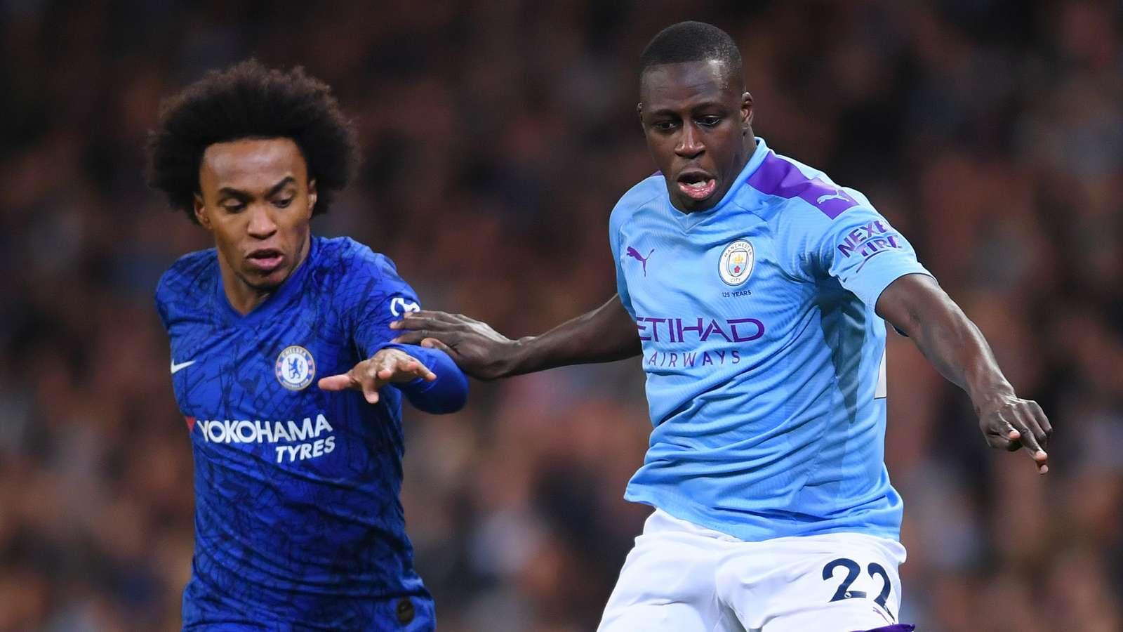 Willian Benjamin Mendy Chelsea Manchester City 2019